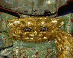 神武天皇の獅噛のバックル