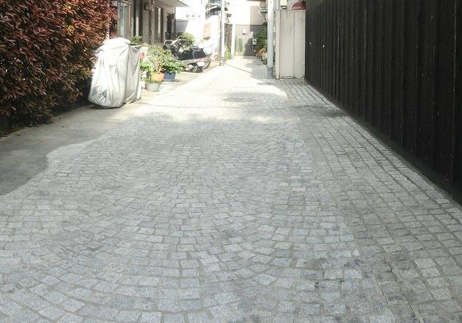 石畳(ひぐらし小路)
