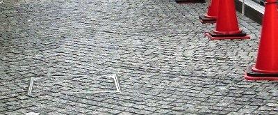 石畳と見返し