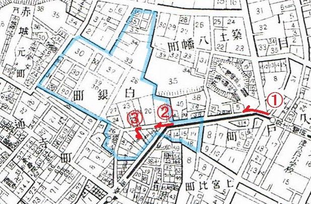昭和5年の地図
