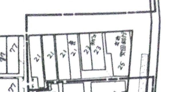 都市製図社製『火災保険特殊地図』(昭和12年)