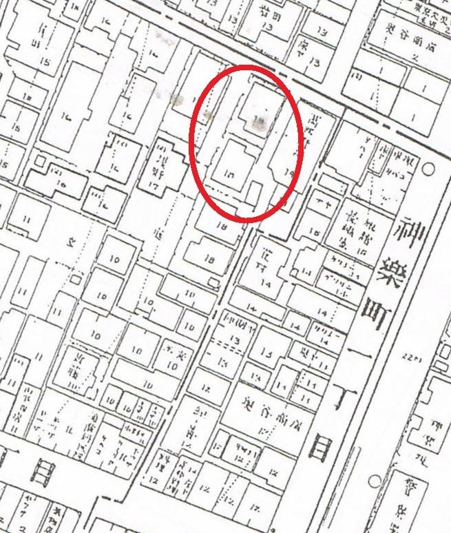 昭和12年「火災保険特殊地図」
