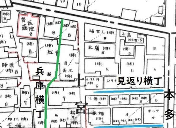 昭和12年『火災保険特殊地図』