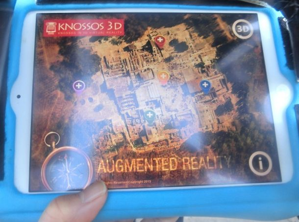 Knossos in 3D software