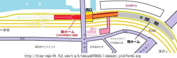 新飯田橋駅
